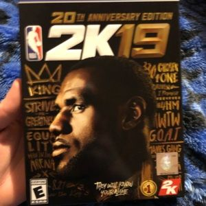 Other - 20th anniversary nba 2k19